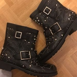 BRAND NEW Jimmy Choo leather boots size 37